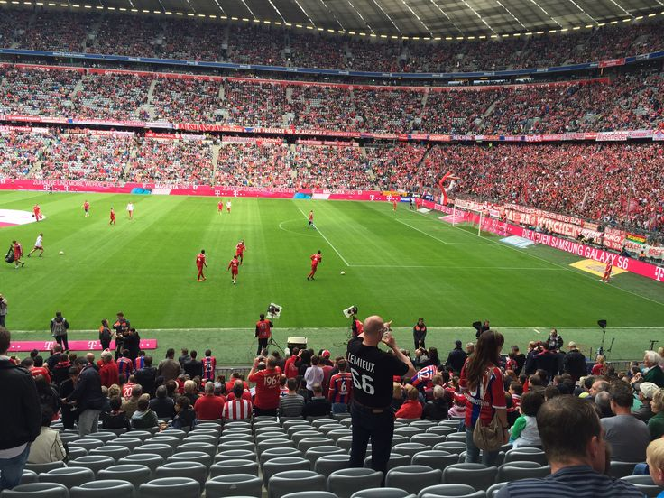 München, Germany - 66 at FC Bayern game