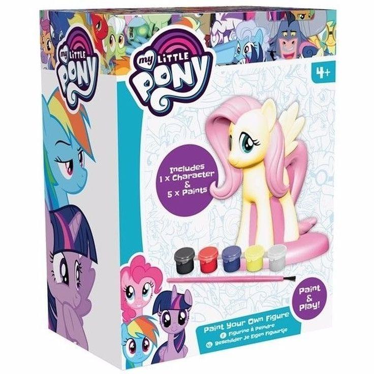 My Little Pony figuur om te verven. DIY My Little Pony inclusief: 1 My Little Pony en 5 kleuren verf. Geschikt voor kinderen vanaf 4 jaar. Afmeting: ongeveer 12 cm.