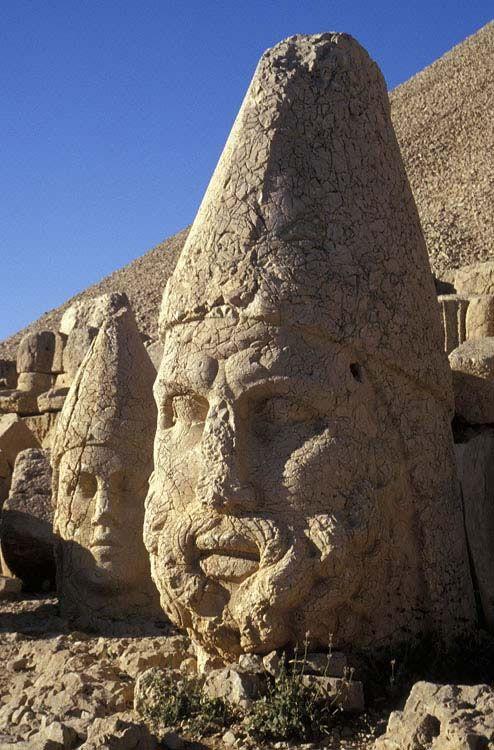Stone Heads, Nemrut Dagi, Turkey