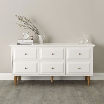 Ercol Devon 6-Drawer Chest Of Drawers from The White Company