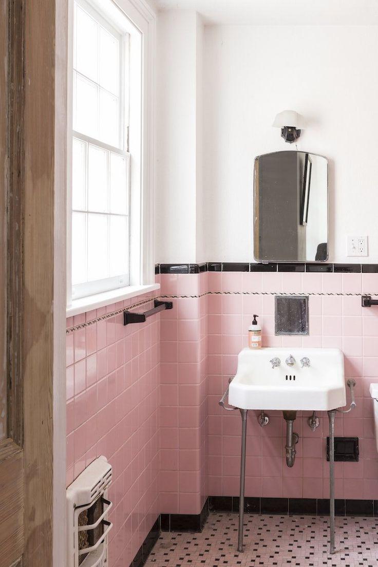 Les 25 meilleures id es de la cat gorie frise carrelage for Carrelage salle de bain rose