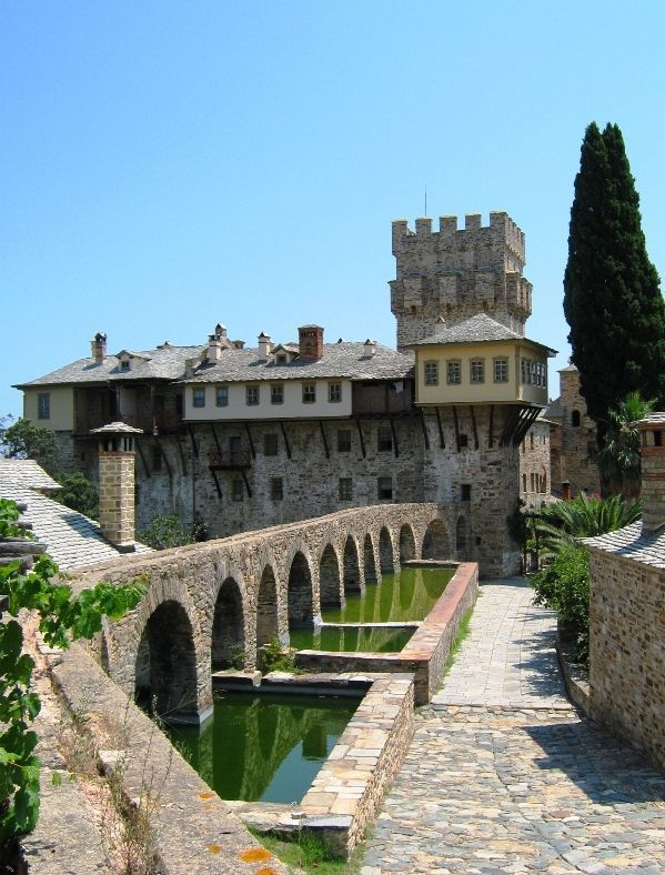 Stavronikita Monastery ~ Mount. Athos, Greece