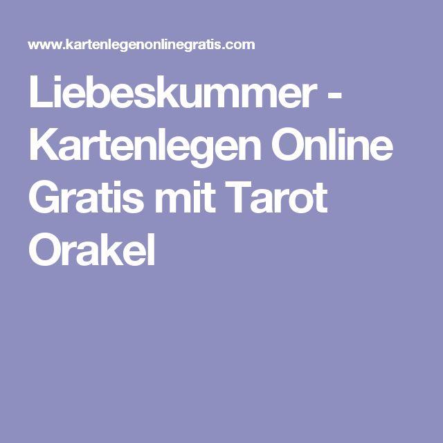 Liebeskummer - Kartenlegen Online Gratis mit Tarot Orakel