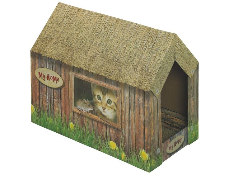 Nobby Cardboard Cat House