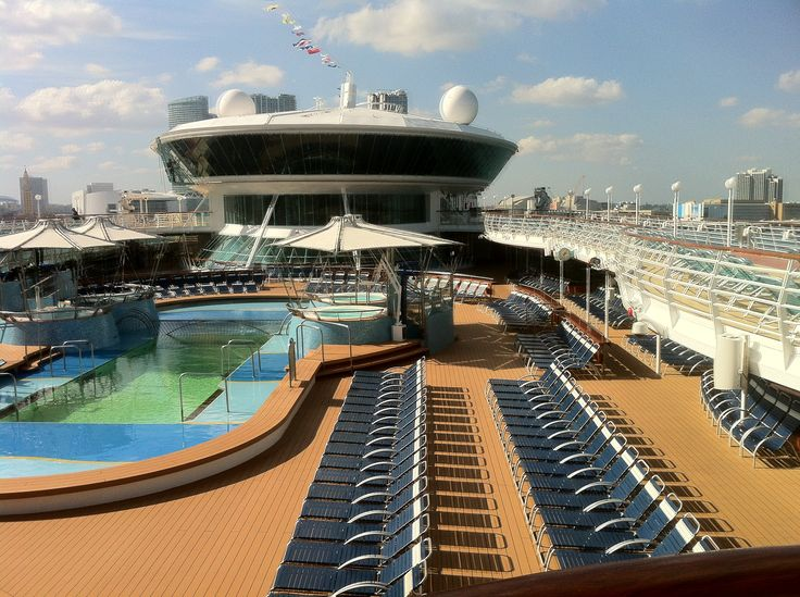 On board @RoyalCaribbean Grandeur of the Seas #cruise