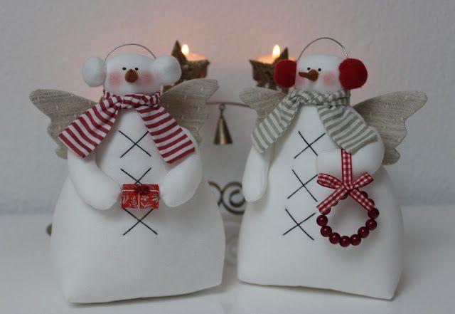 Vicky und Ricky: Tilda muñeco de nieve párrafo Navidad