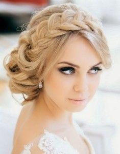Hairstyles for dress neck lines styles
