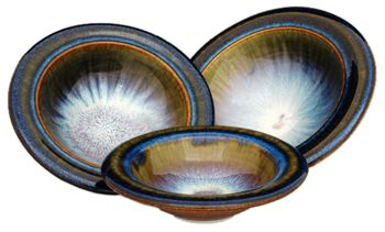 Classic dinner bowls by Bill Campbell Studios.  Beautiful!!