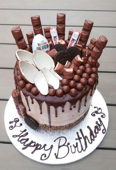 #kinder #cake #киндер #торт #шоколад #орео #деньрождения