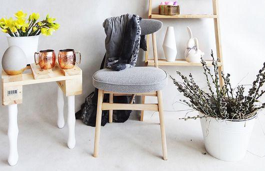 meble - krzesła-KLASYCZNE KRZESŁO Z PRL TYP 200-190