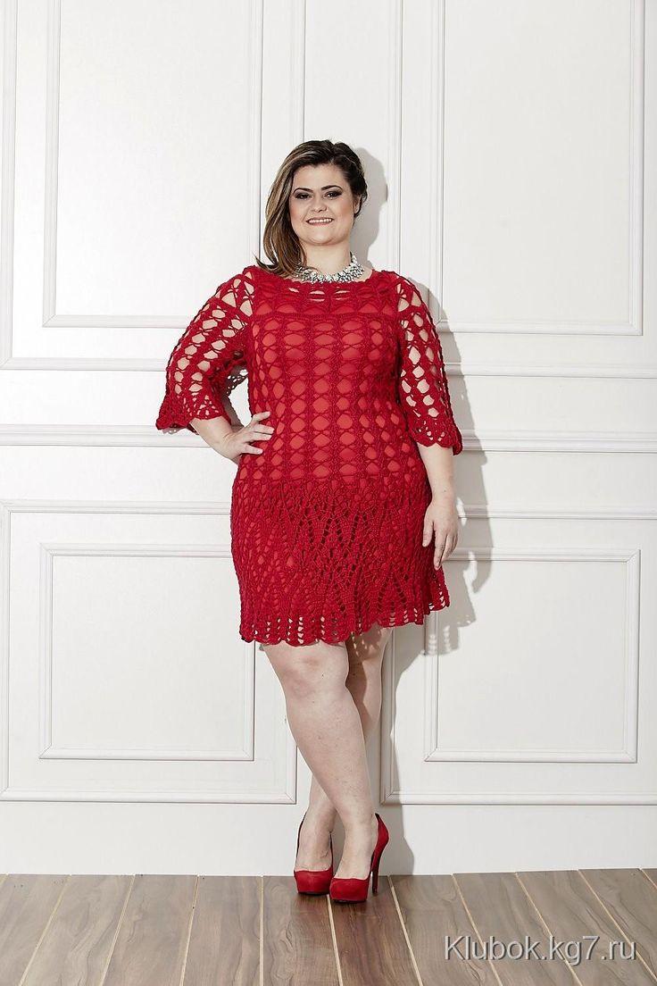Шикарное платье для шикарной женщины   Клубок