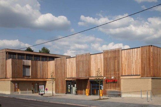 Exemple n°1  Bauge contemporaine à Rennes Architecture de terre - exemple de facade de maison