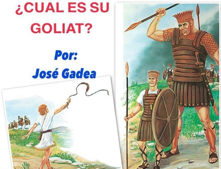 DISCURSO BIBLICO: CUAL ES SU GOLIAT?  (Testigos de Jehova)