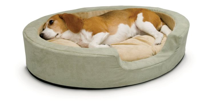 heated dog bed for older dogs - K&H Manufacturing Thermo-Snuggly Sleeper