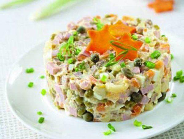 - Очищенные овощи лучше нарезать на небольшие кубики того же калибра, что и горох. Единый размер составляющих салата позволяет раскрыть вкус каждого компонента, не ущемив при этом другие, и собрать …