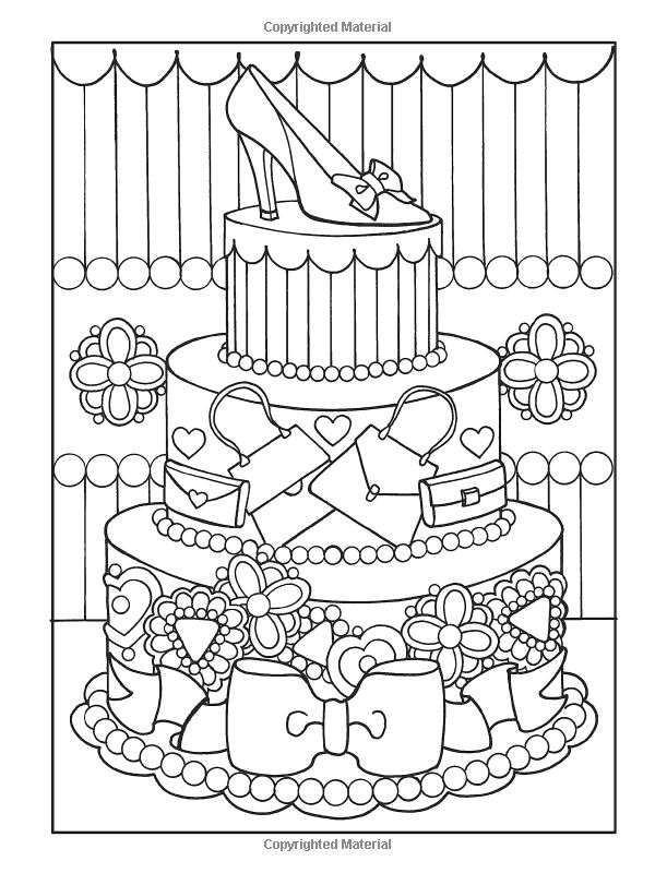Desserts Book Coloring Pages