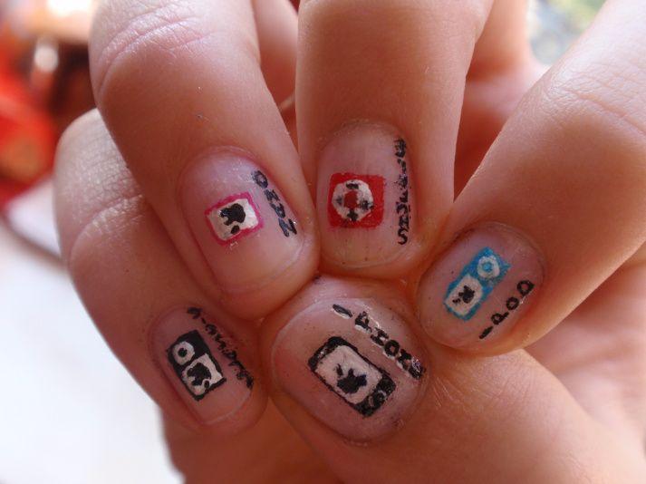 11 Best Weird Nail Art Images On Pinterest Weird Nails Crazy
