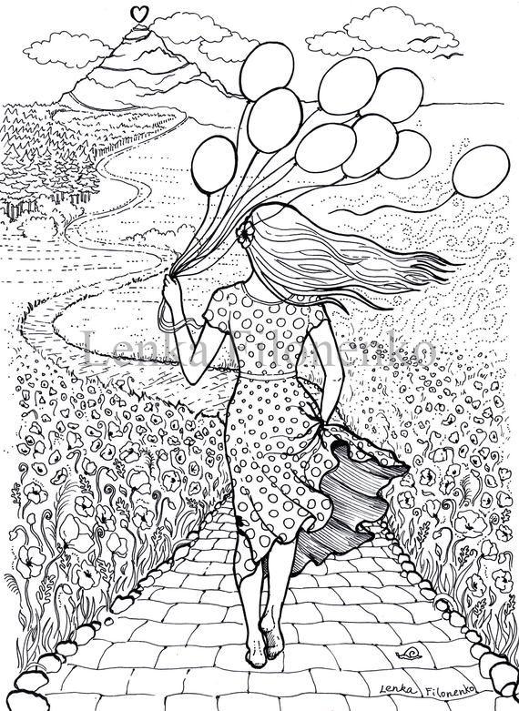 Pagina Para Colorear Para Adultos Pagina Para Colorear Etsy Libros Para Colorear Adultos Dibujos Para Colorear Adultos Libros Para Colorear