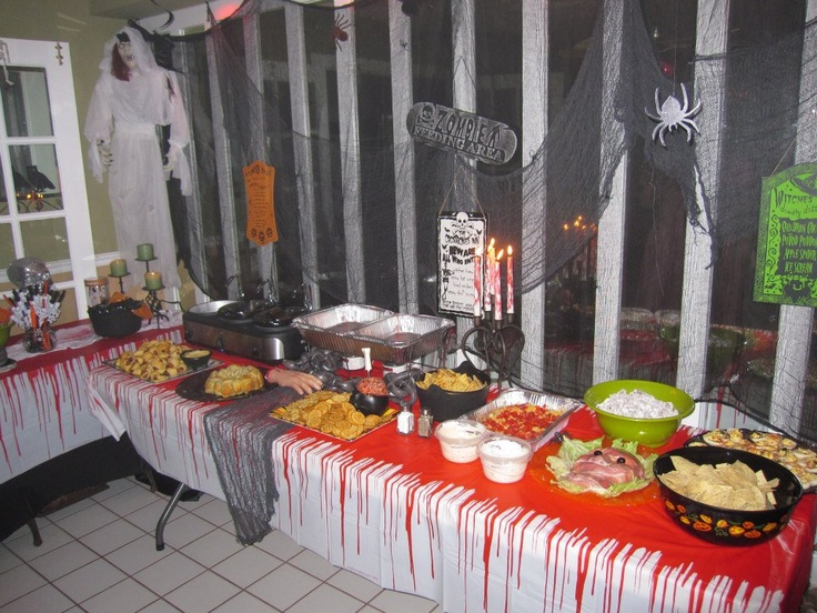 zombie prom buffet halloween pinterest zombie prom zombies and buffet. Black Bedroom Furniture Sets. Home Design Ideas