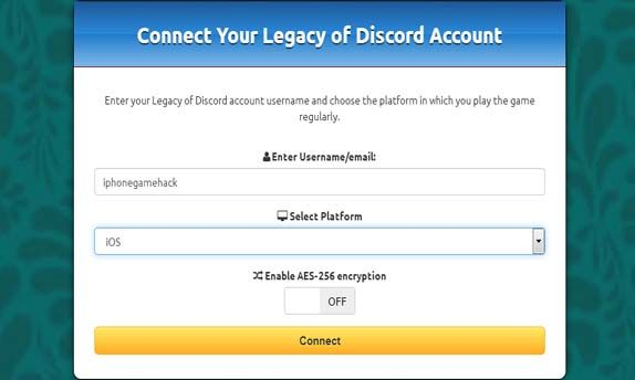 Discord account token generator