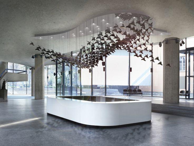 "Lighting object ""Bird Ballet"" by @kackakacka for Sans Souci"