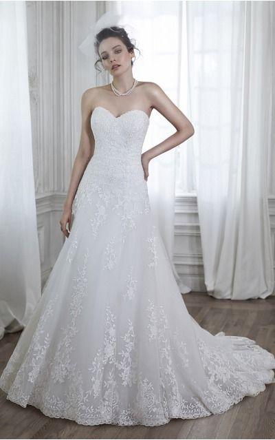 Ball Gown Sweetheart Natural Sleeveless Floor-length Wedding Dresses wfs0049
