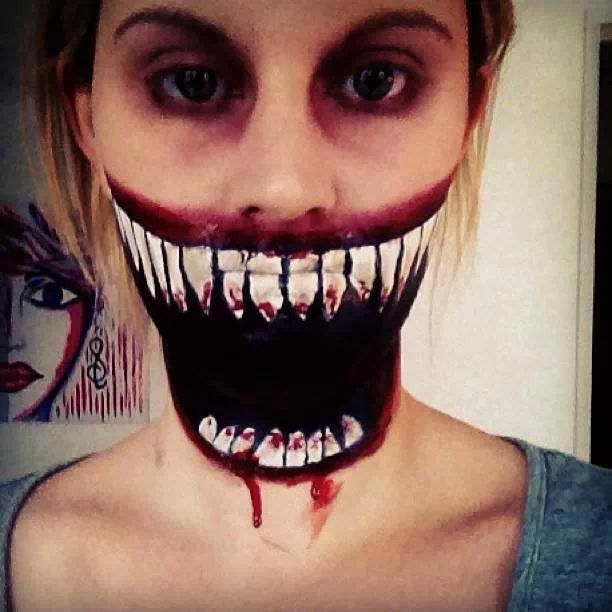 38 best Scary images on Pinterest | Halloween makeup, Costumes and ...
