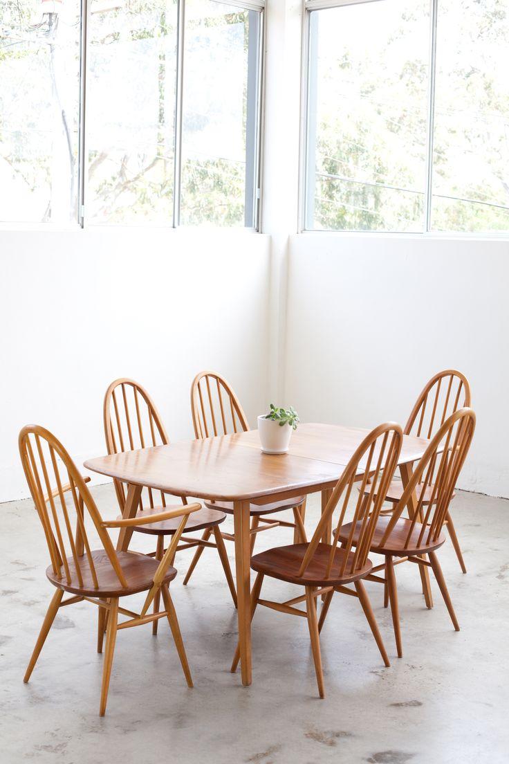 1000 Idéer Om Ercol Dining Chairs På Pinterest  Stoler Og Amusing Second Hand Ercol Dining Room Furniture 2018