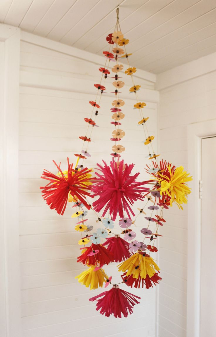 392 best pajaki images on pinterest chandelier chandeliers and diy pajaki paper flower chandelier by madeline young the corner store gallery arubaitofo Images