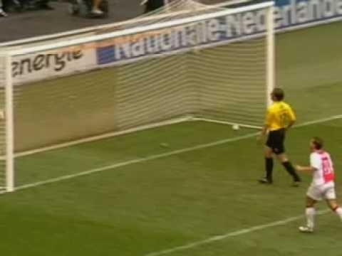 Goal Ibrahimovic, Ajax - NAC 2004