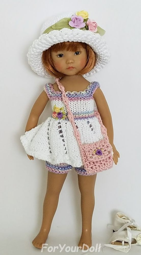"""OOAK Little Lady At The Beach for Effner 13"""" Little Darling by ForYOurDoll 