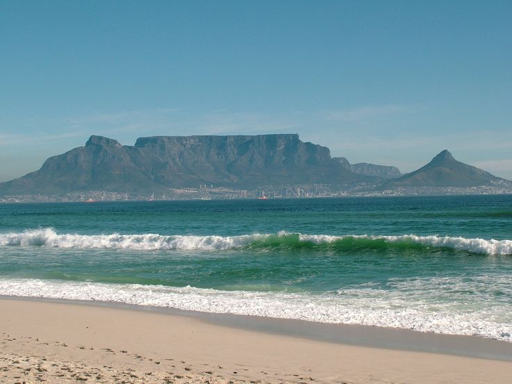 Table Mountain Cape Town Beaches - South Africa Travel Guide - GPSeTravelguides