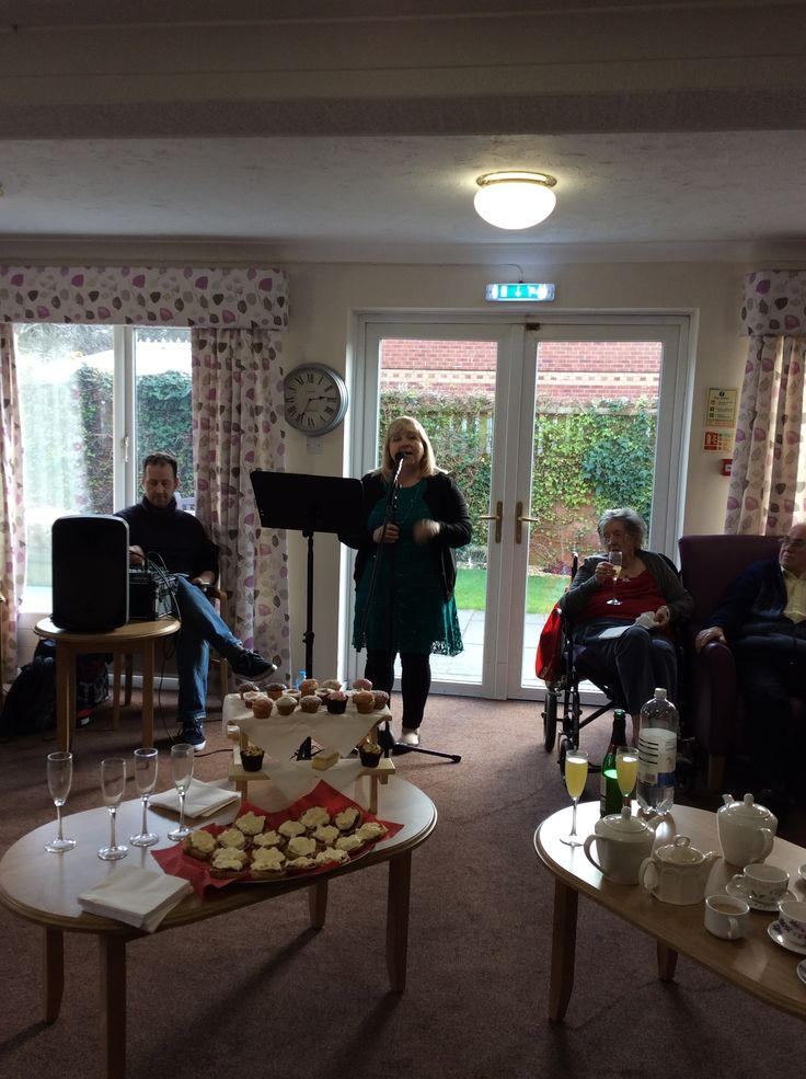 Birch Green birthday celebrations - Birch Green Care Home Skelmersdale