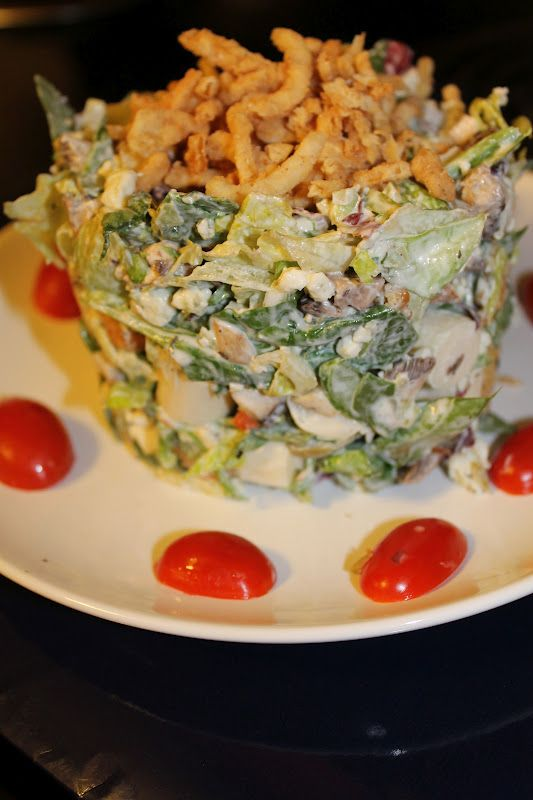 Ruth's Chris Salad - this dressing sounds delicious and different from any I usually eat.