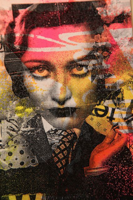 """Dain  """"LIPSTICK HEIDI""""  Snub-Nose prints  Approx 5 x 7 inch.  AVAILABLE 2/11  SHOP/EXTRAS SECTION"""