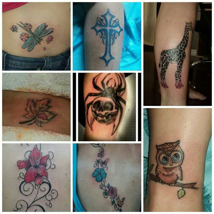 Tattoos done by pete t.o.t