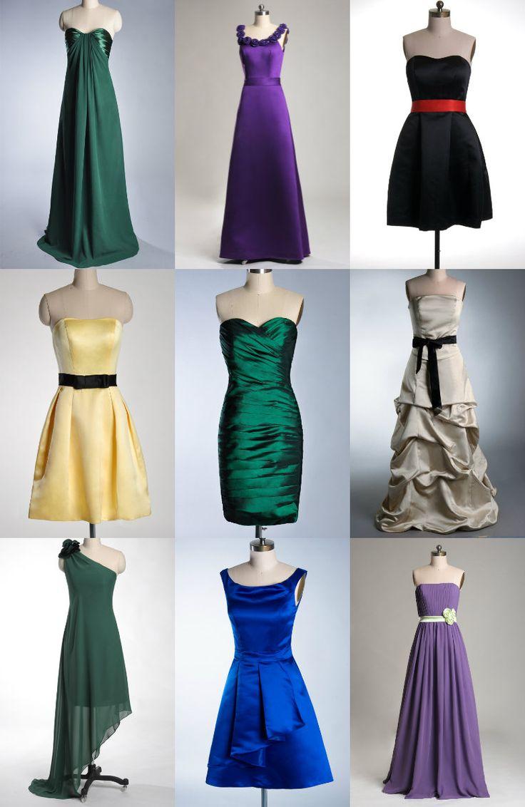 diversi abiti eleganti per la primavera
