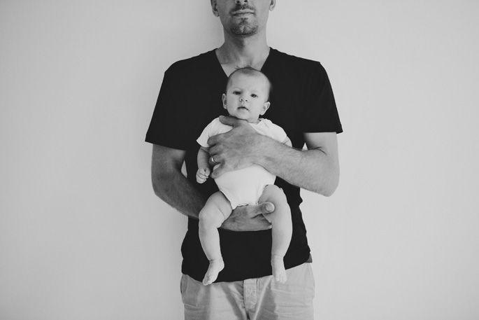 modern baby photography
