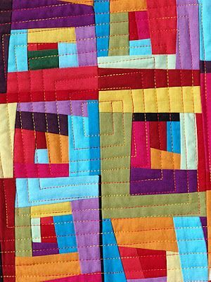 874 Best Images About Quilts Log Cabin Variations On