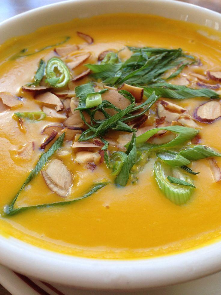 Pumpkin soup, Soups and Pumpkins on Pinterest