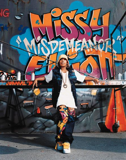 While working on their debut U.S. albums in the early 90's, Missy Elliot and members of R&B group Sugah, lived in the same Rochester studio along with Ginuwine and Magoo who lived upstairs and Timbaland who lived in the basement of the studio.