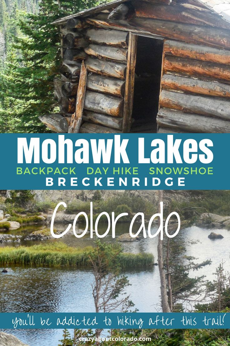 Hikes in Colorado, Mohawk Lakes Trail, Breckenridge, Beautiful backcountry high alpine adventure. Backpacking snowshoeing, hiking. A Colorado destination.