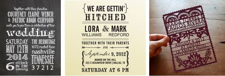 Interesting Wedding Invitation Ideas: 1000+ Ideas About Unique Wedding Invitations On Pinterest