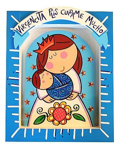Virgencita Plis .-