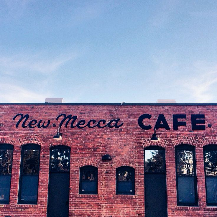 New Mecca Cafe. Pittsburg California.