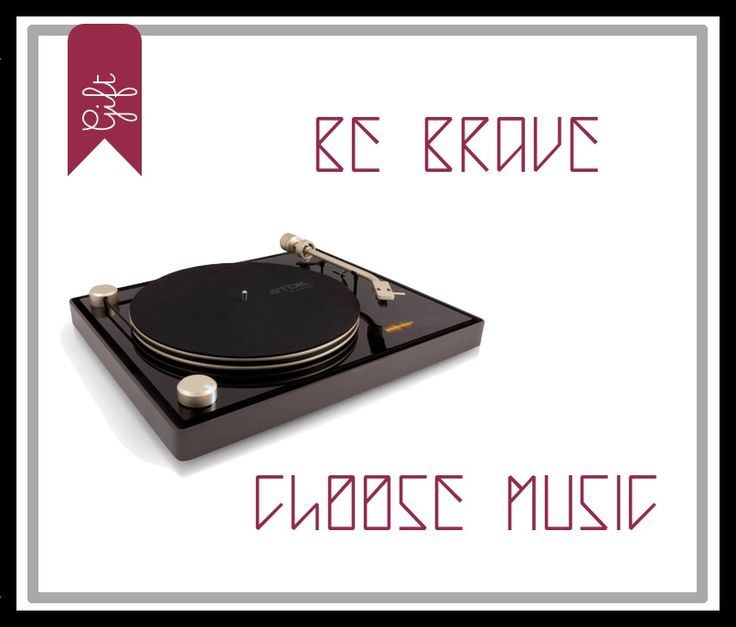 Be brave! Looking for a gift idea? Choose Music! http://bit.ly/1s7FFdA #InteriorDesign #Home #Ilovedesign #Furniture #music #vintage