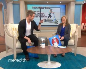 """Jessie Pavelka and Meredith Vieira guess whether the Treadmill Bike is """"Real"""" or """"Fugazi"""". They each guessed differently, but I'd say they were both right. What do you think?"""