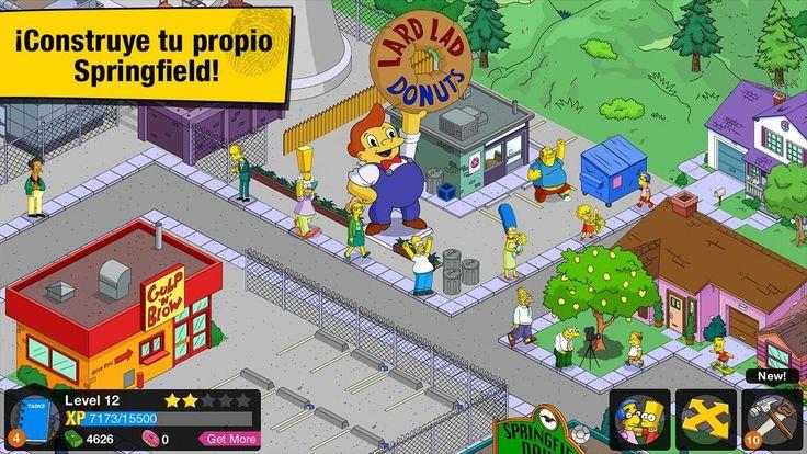 Juego Los Simpson™: Springfield - para Android