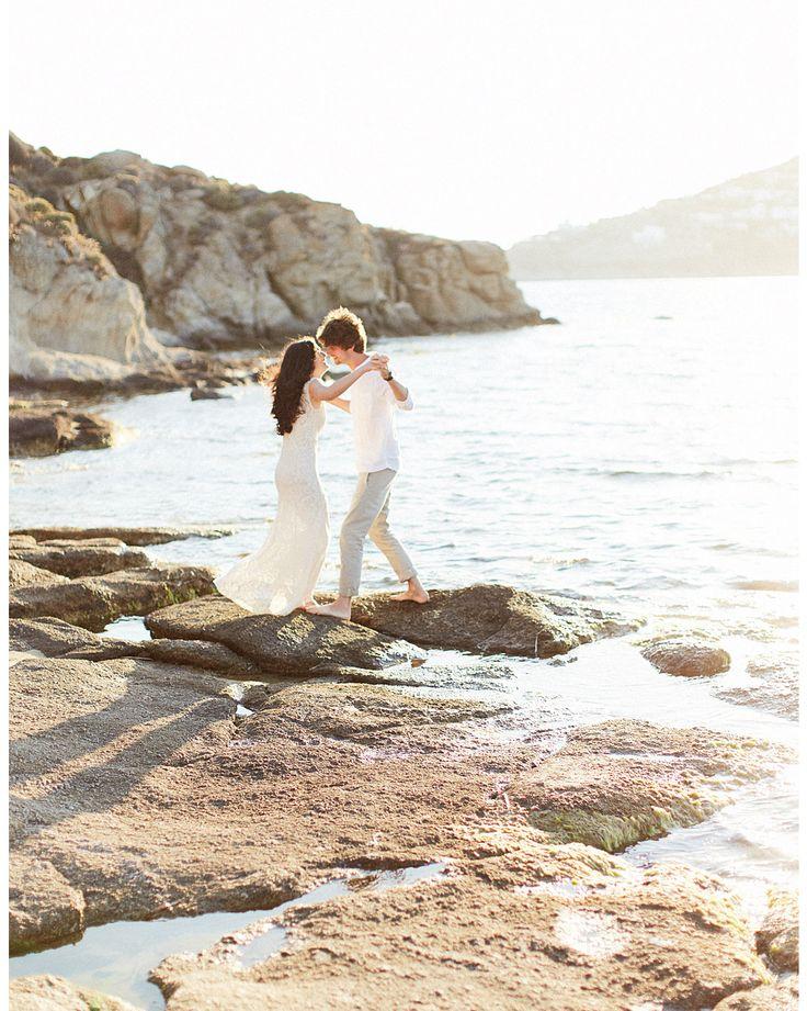 e n g a g e m e n t _A true love under the Mykonian light.  #weddingphotography #weddingphotography