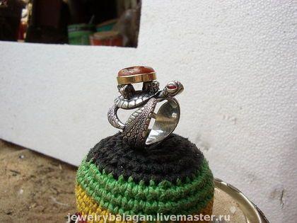 """Кольца ручной работы. Ярмарка Мастеров - ручная работа. Купить Кольцо """"Старый Мир"""". Handmade. Черепаха, земля, слоники, миф"""